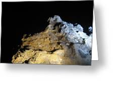 Night Rocks Greeting Card