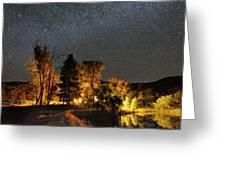 Night Sky, Australia Greeting Card by Alex Cherney, Terrastro.com