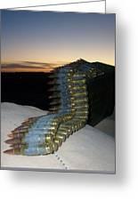 Night Watch In Afghanistan Greeting Card