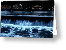 Nighttime At Boathouse Row Greeting Card