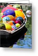 Niijima Floats Greeting Card by Elizabeth Hart