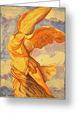 Nike Goddess Of Victory Greeting Card