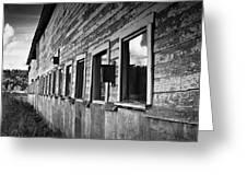 Nisqually Wildlife Refuge P18 The Barn II Greeting Card