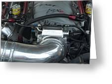 Nitrous Fuel Greeting Card