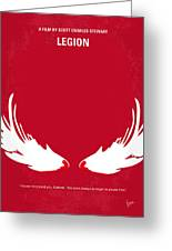 No050 My Legion Minimal Movie Poster Greeting Card by Chungkong Art
