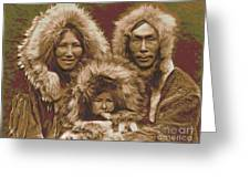 Noatak Family Group Greeting Card