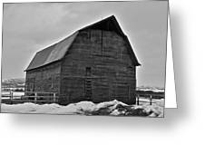 Noble Barn Greeting Card
