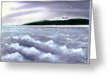 Nobska Point View Greeting Card