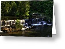 Nora Mill Falls Greeting Card