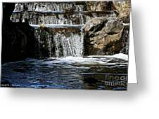 Normandale Falls Greeting Card