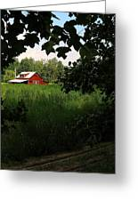 North Carolina Farm Greeting Card