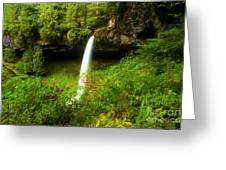 North Falls Canyon Greeting Card