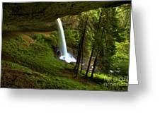 North Falls Cavern Greeting Card