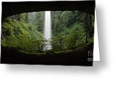 North Falls Oregon 2 Greeting Card