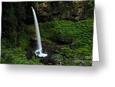 North Falls Oregon Greeting Card