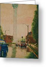 North Grand Water Tower Greeting Card by Terry Jackson