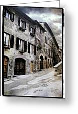 North Italy  Greeting Card