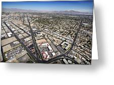North Las Vegas View Greeting Card