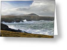 North Mayo, Co Mayo, Ireland Sea Cliffs Greeting Card