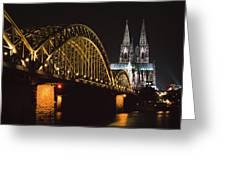 North Rhine, Westphalia, Dom And Greeting Card