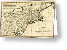 Northeast Coast Of America Greeting Card