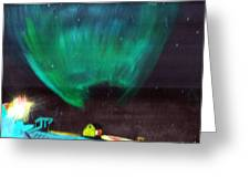 Norther Lights 4 Greeting Card