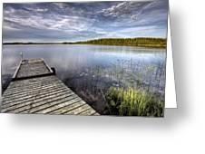 Northern Saskatchewan Lake Greeting Card
