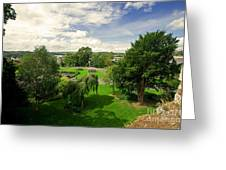 Northernhay Gardens  Greeting Card