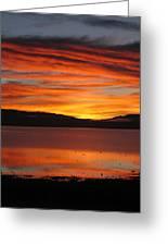Northshore Sunrise Tahoe 2 Greeting Card
