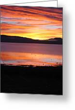 Northshore Sunrise Tahoe Greeting Card