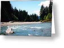 Northwest River Greeting Card