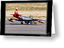Nose Gear Trouble Greeting Card