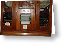 Nostalgic Wurlitzer Player Piano . 7d14400 Greeting Card