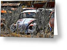 Not Herbie The Love Bug Greeting Card