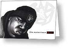 Notorious B.i.g Greeting Card