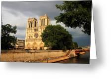 Notre Dame De Paris 2 Greeting Card