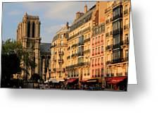 Notre Dame De Paris 3 Greeting Card
