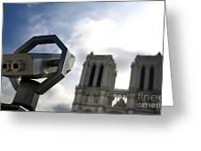 Notre Dame De Paris. France Greeting Card