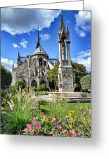 Notre Dame Gardens Greeting Card