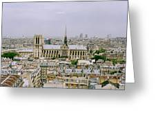Notre Dame In Paris Greeting Card
