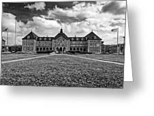 Notre Dame Seminary Monochrome Greeting Card