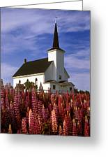 Nova Scotia Church Greeting Card