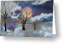 November Moon Greeting Card