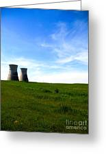 Nuclear Landscape Greeting Card