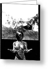 Nude Landscape 02 Greeting Card