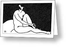 Nude Sketch 69 Greeting Card
