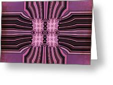 Number 7 Connection To Spirit Greeting Card