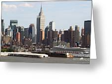 Nyc In The Afternoon Greeting Card