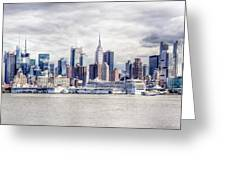 Nyc Skyline 2 Greeting Card