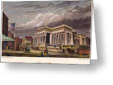 Nyc: The Tombs, 1850 Greeting Card
